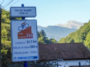 Benefizaktion 3P-Projekt - Col du Soudet