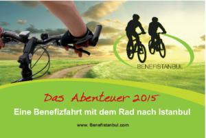 Benefizaktion Benefistanbul 2015 - Flyer