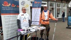 Infostand Benefiz-Nordic-Walking-Tour