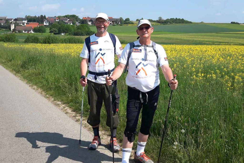 Benefiz-Nordic-Walking 2016