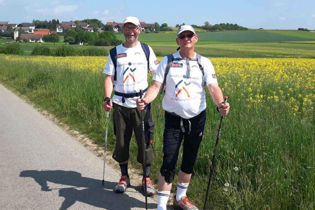 Benefiz-Nordic-Walking 2016