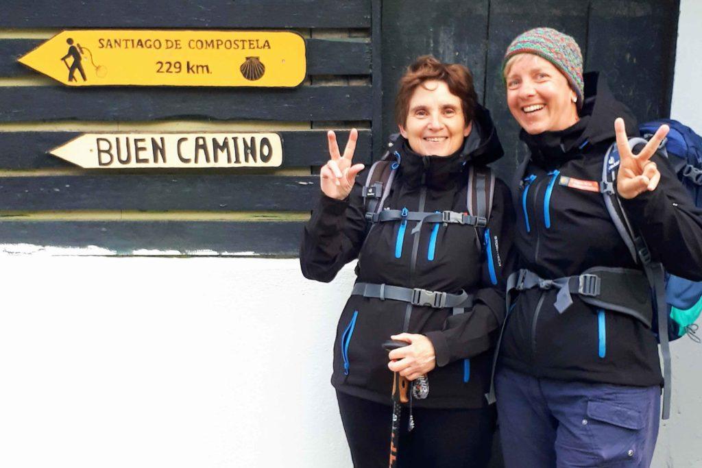 Benefizaktion - Pilgern mit Parkinson - Eva-Maria Wolf und Stephanie Heinze