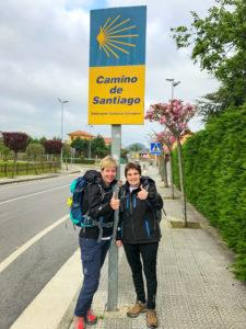 Benefizprojekt - Pilgern mit Parkinson - Stephanie und Eva-Maria auf dem Jakobsweg