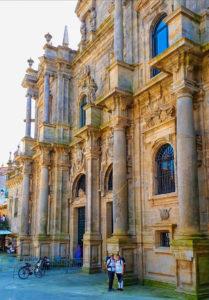 Benefizaktion - Pilgern mit Parkinson - Ankunft in Santiago de Compostela