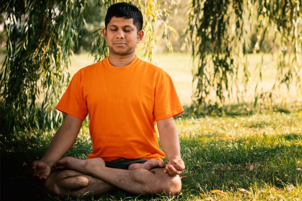 Entspannungstherapie - Meditation