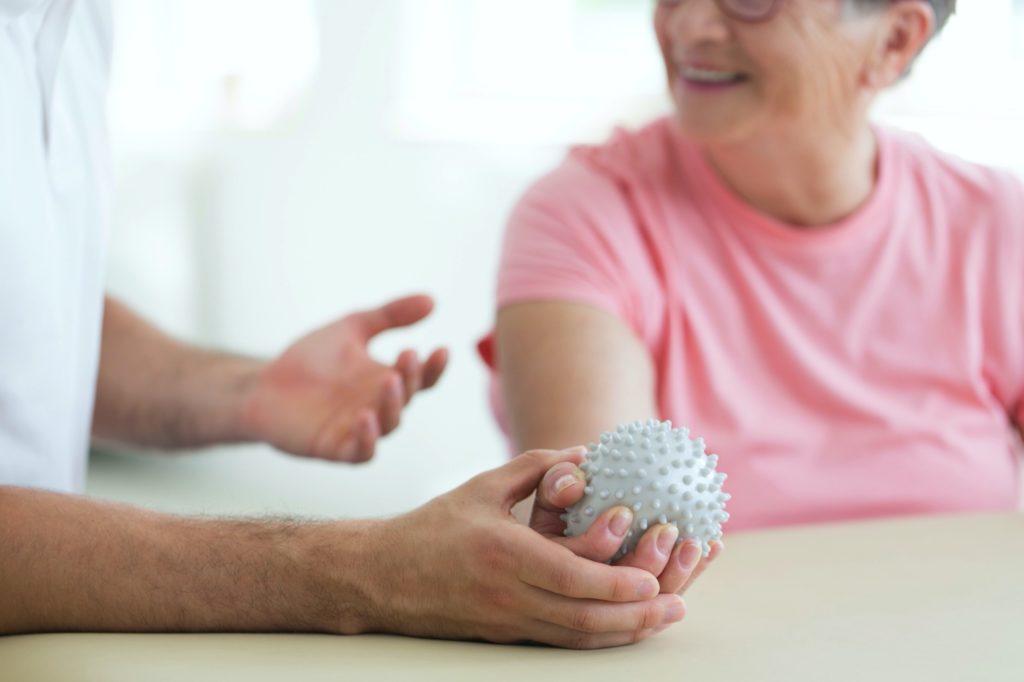 Ergotherapie bei Parkinson