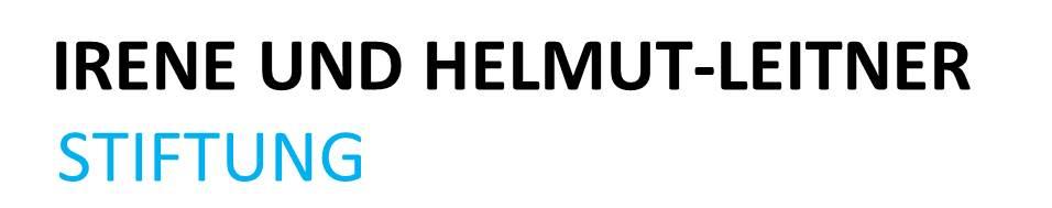 Logo Irene und Helmut Leitner Stiftung