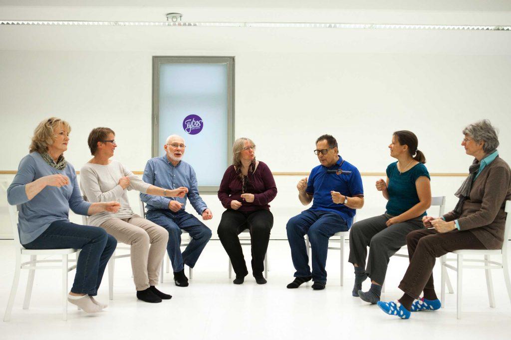 Tanzen mit Parkinson im Sitzen