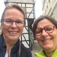 May Evers und Ingrid Hauff