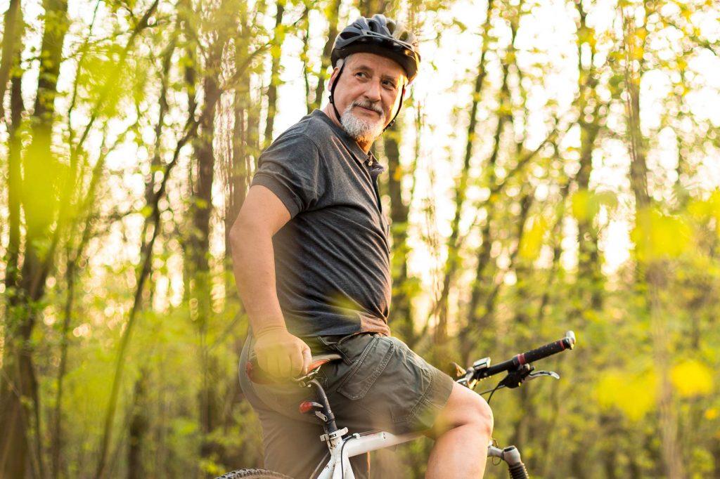 Nichtmedikamentöse Behandlungsmethoden - Sporttherapie - Radfahrer