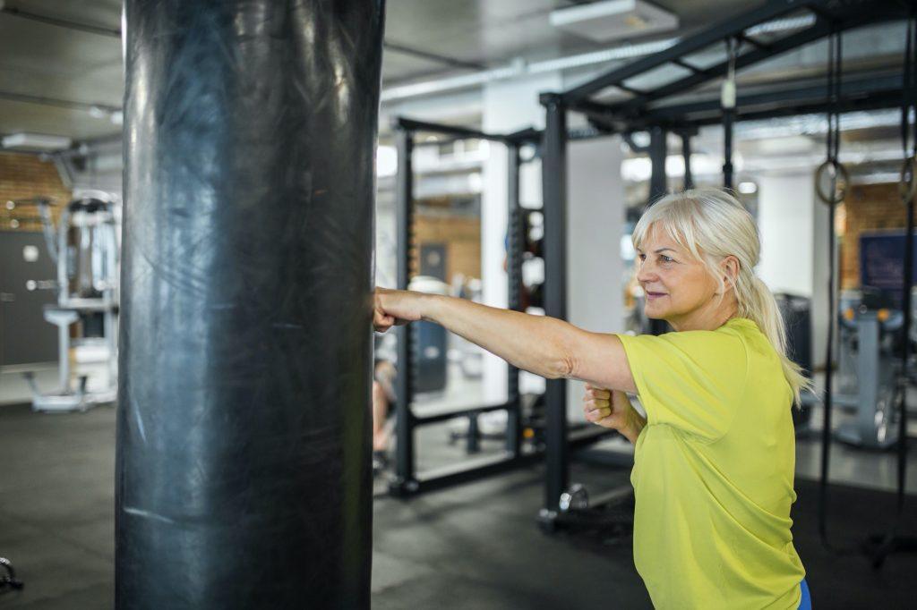 Boxen mit Parkinson
