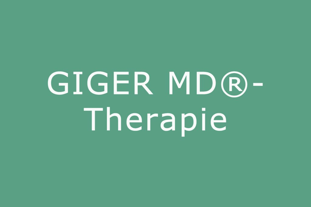 Giger MD Therapie bei Parkinson