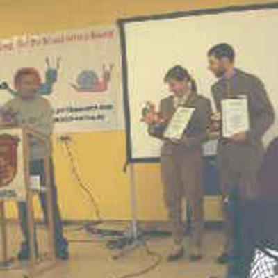 Stiftungspreisträger 2000 - Klein & Jakobs