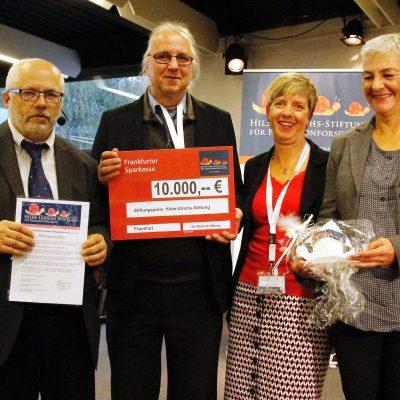 Stiftungspreisverleihung 2018 an den VPNA e. V.