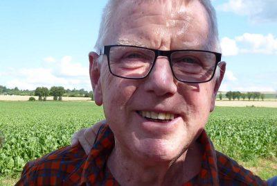 Axel Kuba von der Hilde-Ulrichs-Stiftung