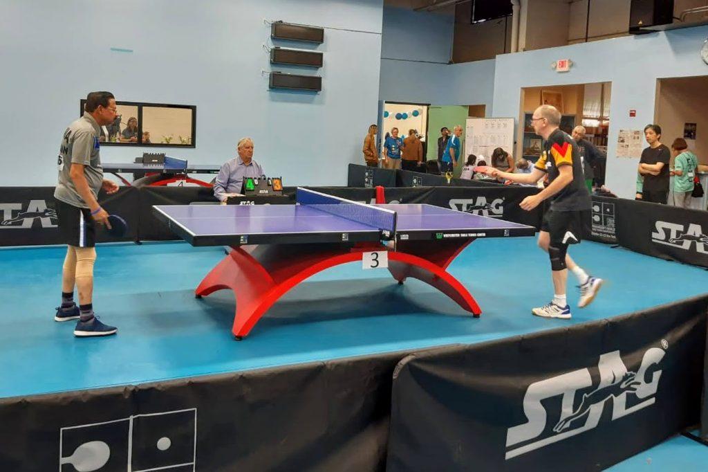 Tischtennis spielen mit Parkinson